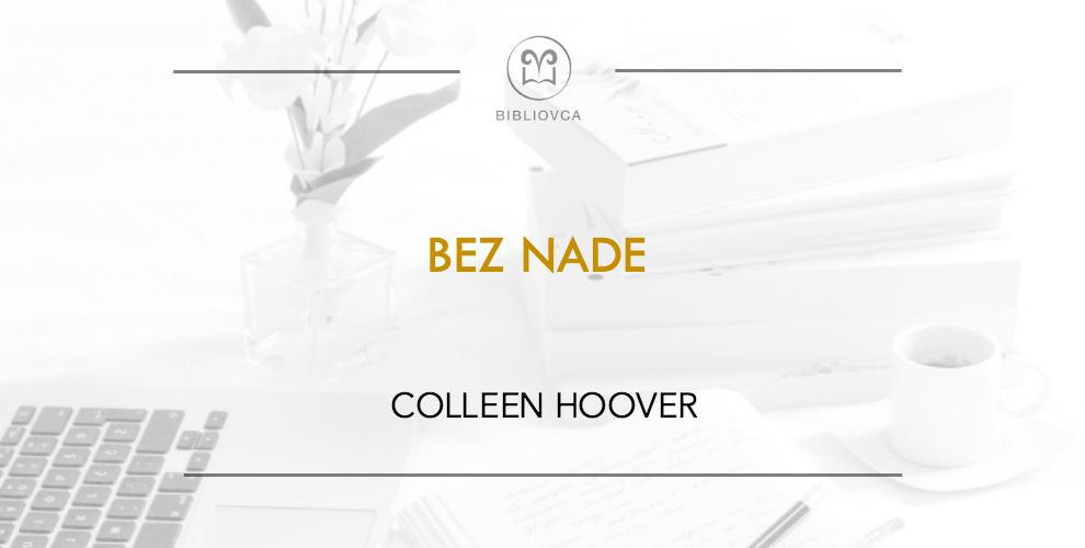 Bez Nade Colleen Hoover Pdf